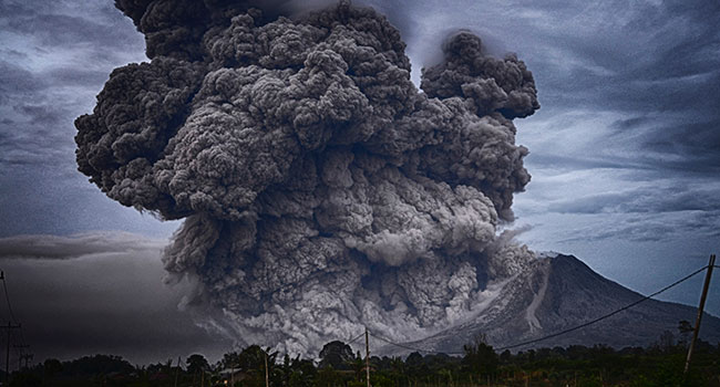 Government budgets are like volcanoes