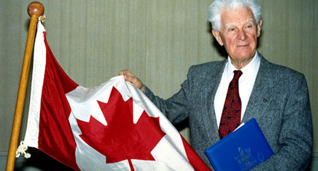 Canadian flag flying proud for 51 years