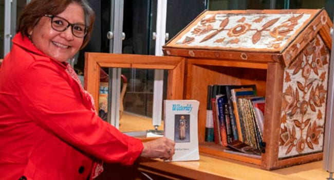 Tackling literacy, one little free library at a time