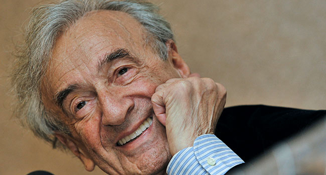 Elie Wiesel left the world a better place than he found it