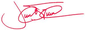 Trudeau signature