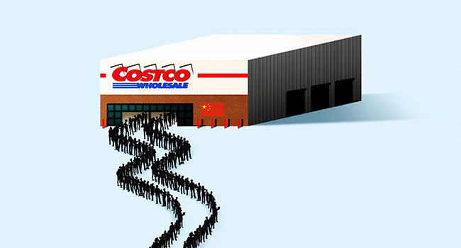Costco finds a willing and growing market in Canada