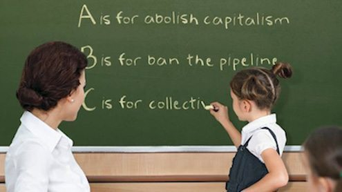 In-class activism replacing real education