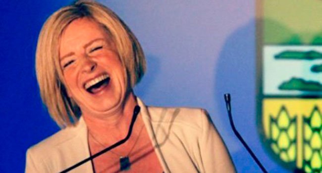 Notley's use of 'mansplaining' slurs all men