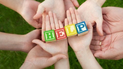 Caregivers mustn't be afraid to ask for help