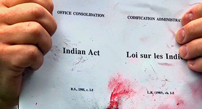 The Indian Act should have been abolished years ago