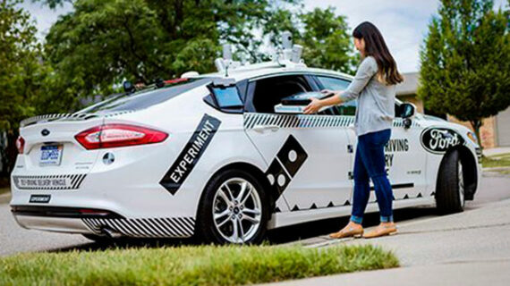 Driverless pizza delivery, at – or near – your doorstep