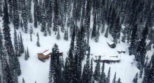 Goodbye Boulder Hut