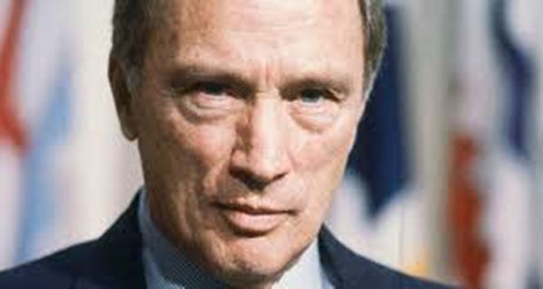 The coronation of Pierre Trudeau