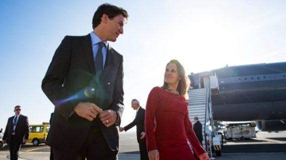 Did Canada expel Russian diplomats for a false reason?