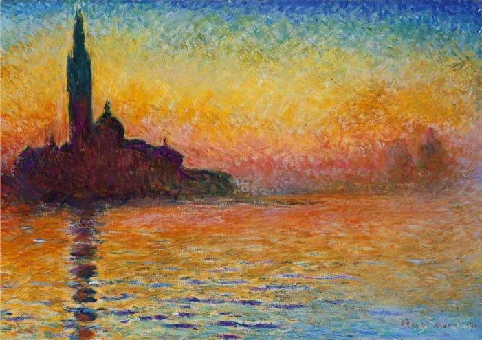 Discovering Monet's lifelong fascination with architecture