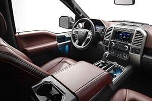 2018 Ford Lariat interior