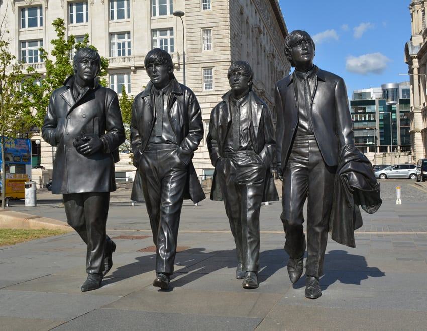 Beatles statues