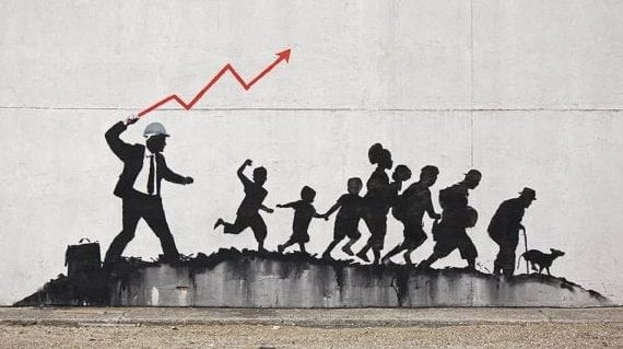 Banksy, and art's uneasy alliance with capitalism
