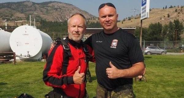 Free-falling: Canada's SkyHawks make skydiving look easy