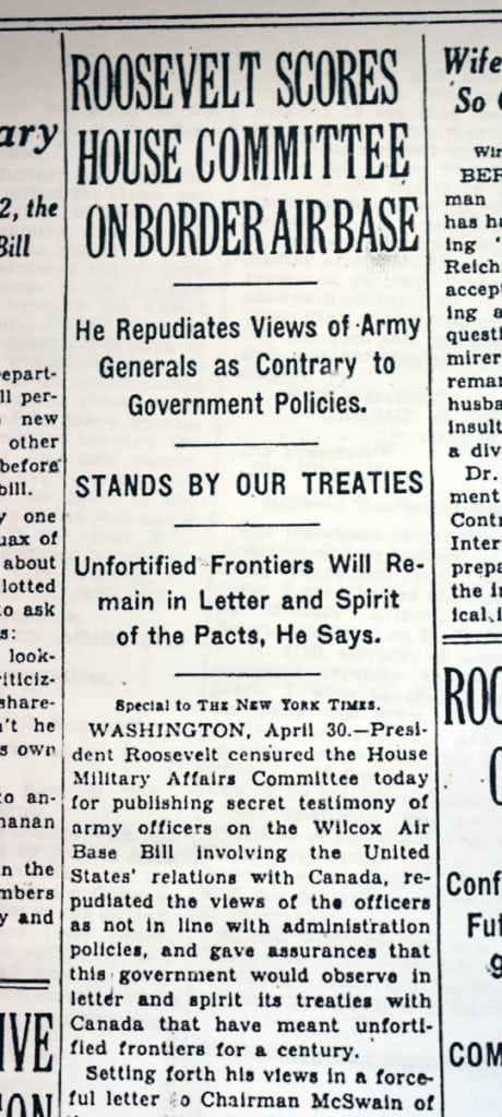 America's plan to wage war on Canada in the 1930s