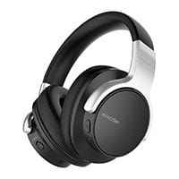 Mixcder E7 active noise cancelling Bluetooth headphones with mic
