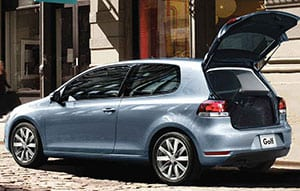 The 2010 Volkswagen Golf is one of the better-handling models in this end of the market.