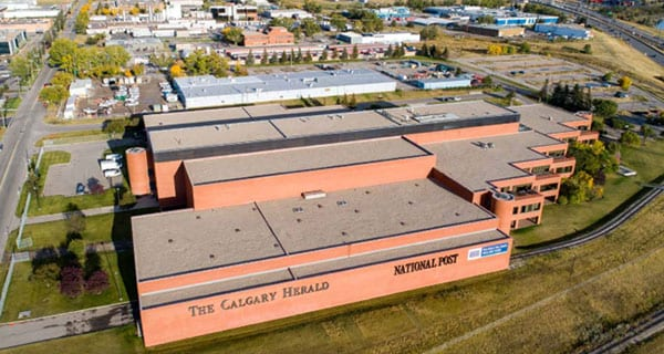 Calgary Herald building listed for sale at $20 million