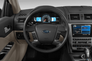 One Area Where The 2010 Ford Fusion Hybrid Excelled Was In Its Instrumentation A Full Set Of Gauges Front And Centre Informs Driver About Things Like