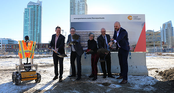 Unique parkade and innovation centre launched in Calgary