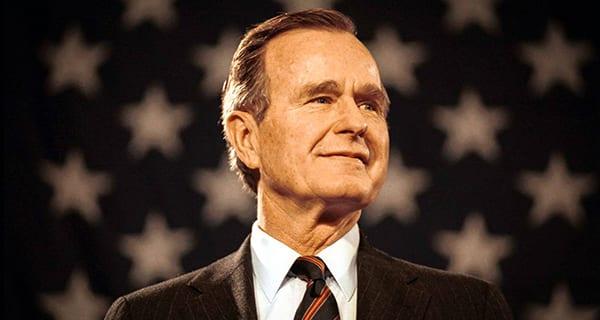 The political fragility of George H.W. Bush