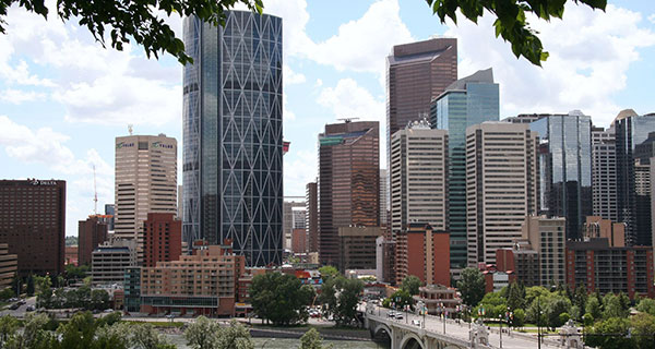Calgary ranks 3rd in Canada for number of head office employees