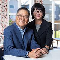 Wayne and Eleanor Chiu