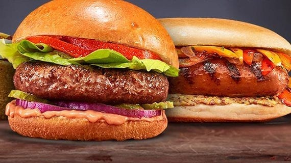 The plant-based invasion takes over the barbecue