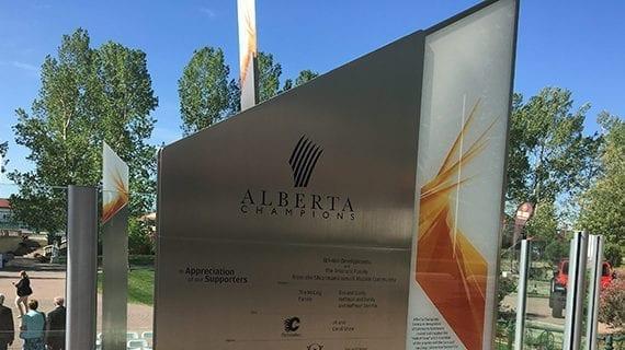 Monument at Spruce Meadows honours Alberta leaders