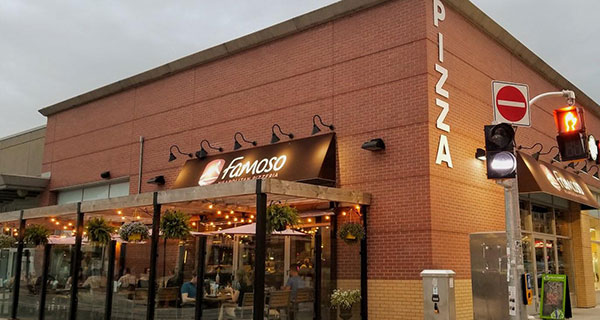 Famoso Italian Pizzeria + Bar in expansion mode