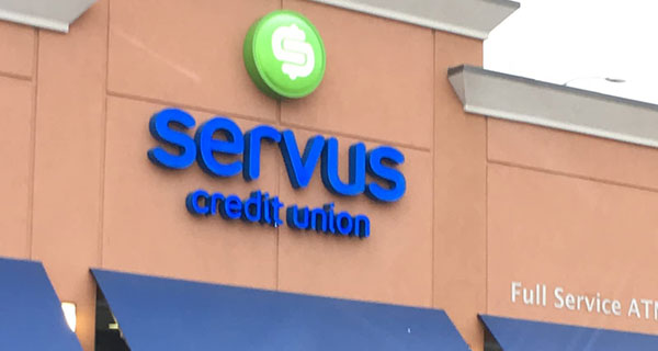Servus Credit Union net income up 7% in quarter