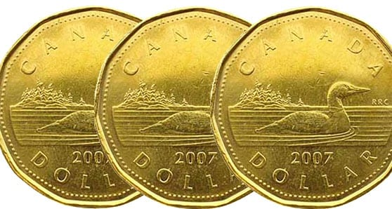 Canadian Loonie Rallying Against U.S. Dollar After Recent Decline