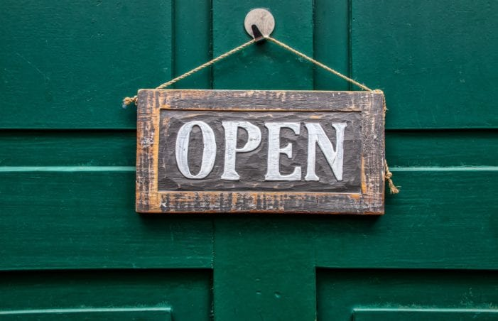 An open government doesn't close doors to information