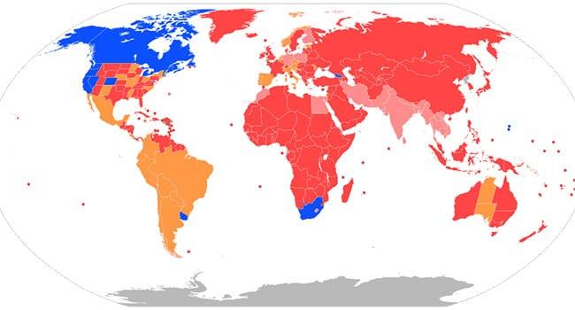 The Legal Status of CBD Worldwide
