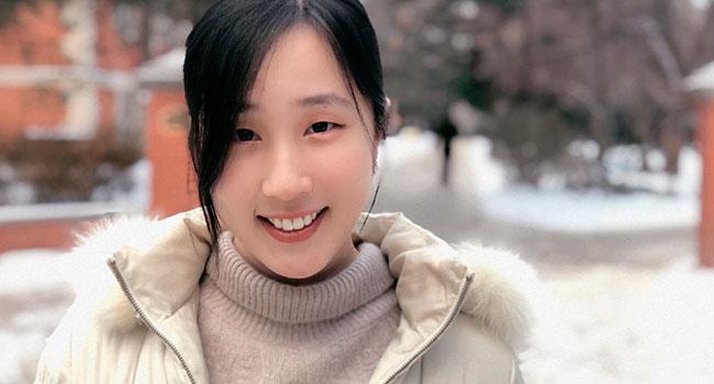 PhD student Doris Zhang