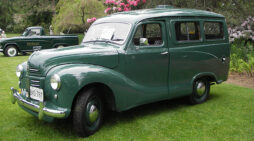 The loving restoration of a 1953 A40 Countryman