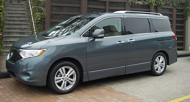 the Nissan Quest, 2011 edition