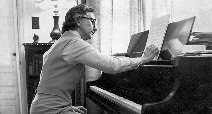 Violet Archer piano composr instrument music