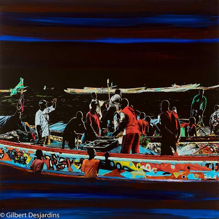 Gilbert Desjardins art