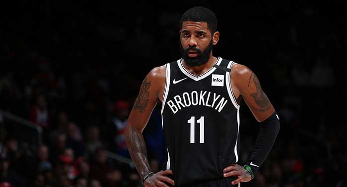 Kyrie Irving hasn't learned a thing from playing a team sport
